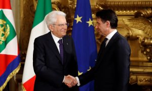 Italy's Giuseppe Conte Sworn in as Prime Minister