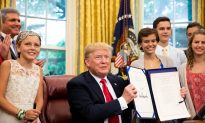 President Trump Signs Bill Enhancing Research Against Childhood Cancer