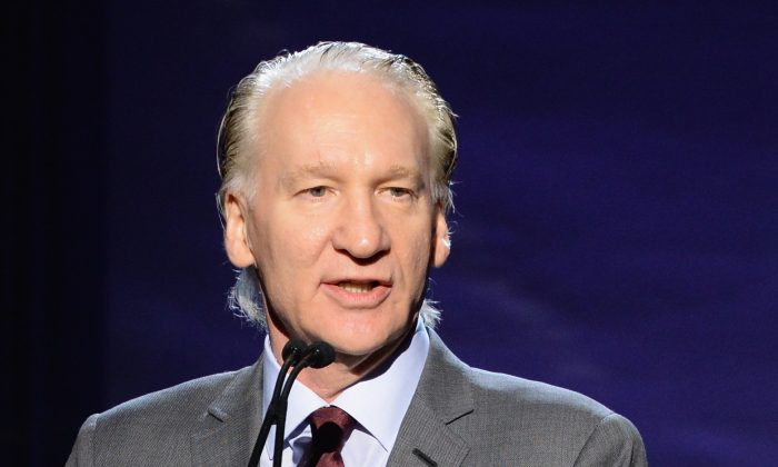 Bill Maher in Beverly Hills, California on Jan. 7, 2017. (Michael Kovac/Getty Images for J/P Haitian Relief Organization)