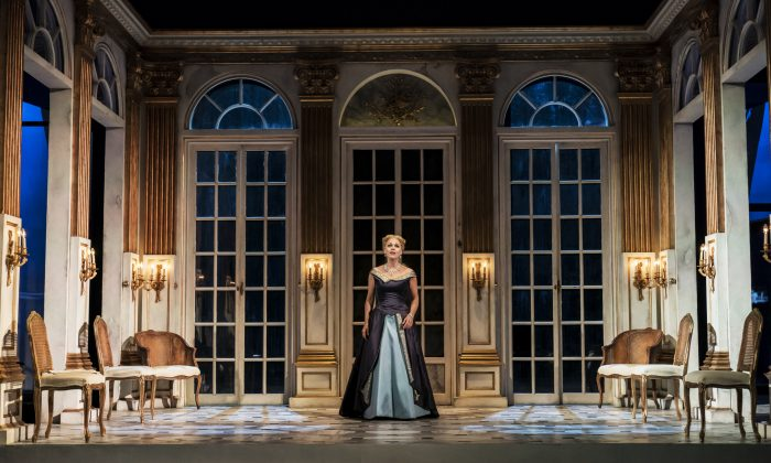 "Miah Persson shines as the Countess in Strauss's ""Capriccio"" playing at the Garsington Opera. (Johan Persson)"