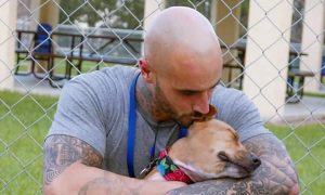 Inmate tasked to train dog in prison ends up falling in-love and turning his life around