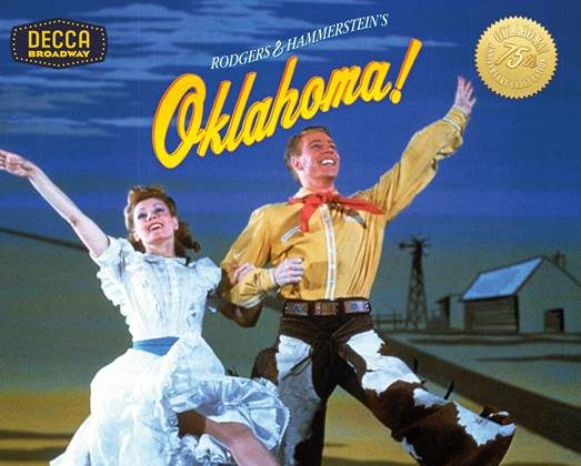 "The 2018 release of the original cast recording of  ""Oklahoma!"""