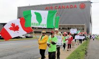 Taiwanese-Canadians Protest Air Canada's Listing Taiwan as Part of China