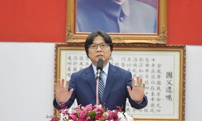 Yeh Jiunn-rong, minister of Taiwan's Ministry of the Interior. (Ministry of the Interior)