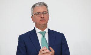 Head of VW's Audi Arrested in Germany Over Diesel Scandal