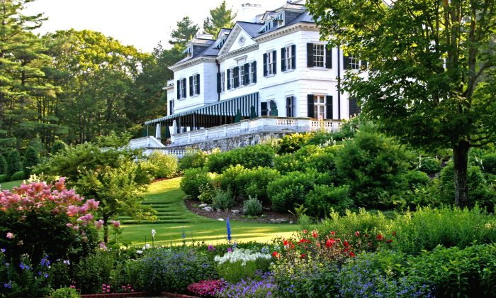 """The Mount,"" Edith Wharton's home, in Lenox, Mass. (DAVID-DASHIELL / EDITHWHARTON.ORG)"