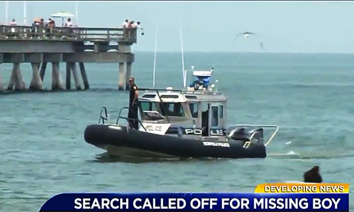 Several agencies have suspended searches for the body of a 12-year-old boy who disappeared off a Virginia beach on June 16, 2018. (Screenshot via WTKR)