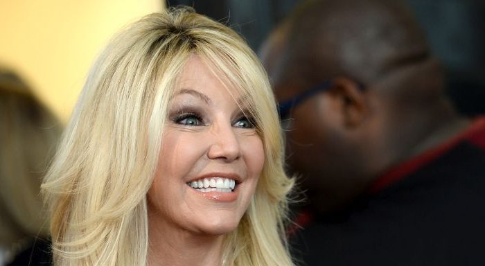 """In this handout photo provided by Discovery, Actress Heather Locklear attends TLC """"Too Close To Home"""" Screening at The Paley Center for Media in Beverly Hills, California on Aug. 16, 2016. (Photo by Amanda Edwards/Discovery via Getty Images)"""