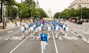 Falun Gong March in Washington Delivers Message of Hope