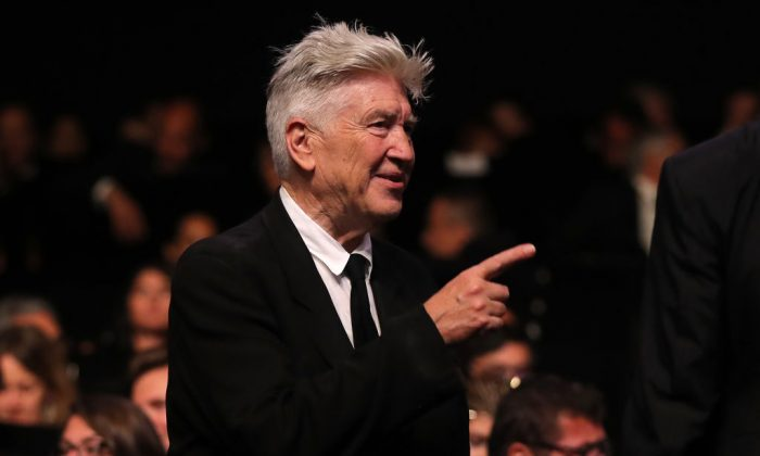 US director David Lynch arrives to attend on May 28, 2017 the closing ceremony of the 70th edition of the Cannes Film Festival in Cannes, southern France. (VALERY HACHE/AFP/Getty Images)