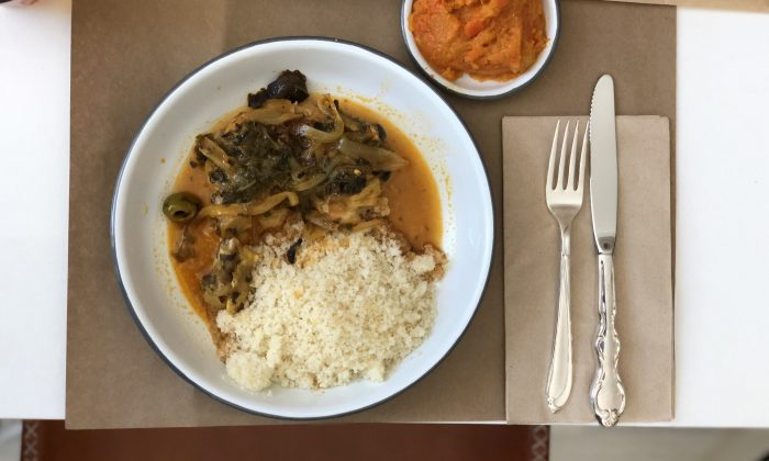 The handmade couscous is the star at Kish-Kash. (Yoav Davis)