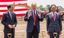 Trump Breaks Ground on Foxconn's $10 Billion Wisconsin Plant