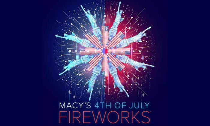 The Poster for Macy's 2018 Fourth of July fireworks show. (Macy's)