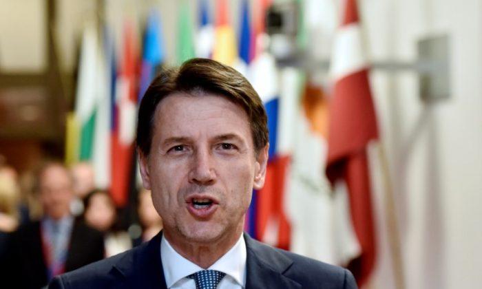 Italian Prime Minister Giuseppe Conte leaves a European Union leaders summit in Brussels, Belgium, June 29, 2018. REUTERS/Eric Vidal