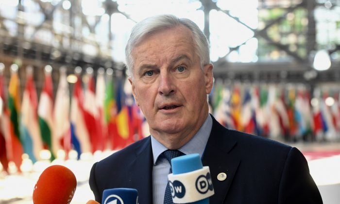 Chief EU negotiator in Brexit, Michel Barnier at the Council of Europe, Brussels on June 29, 2018 (EU/Mauro Bottaro)