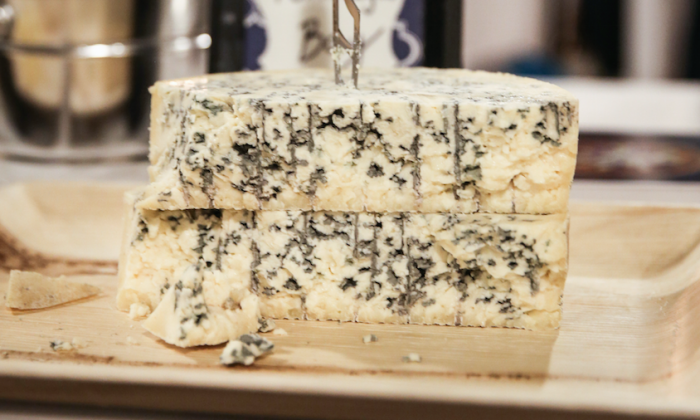 Point Reyes Bay Blue, from Point Reyes Farmstead Cheese Company in Point Reyes Station, Calif. (Ellen Cronin)