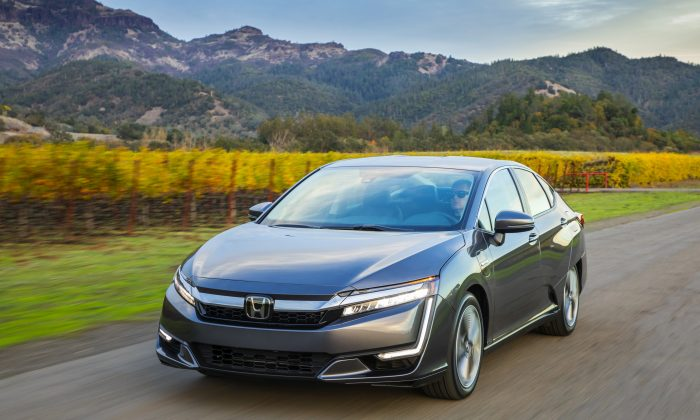 2018 Honda Clarity Plug-In Hybrid. (Courtesy of Honda)