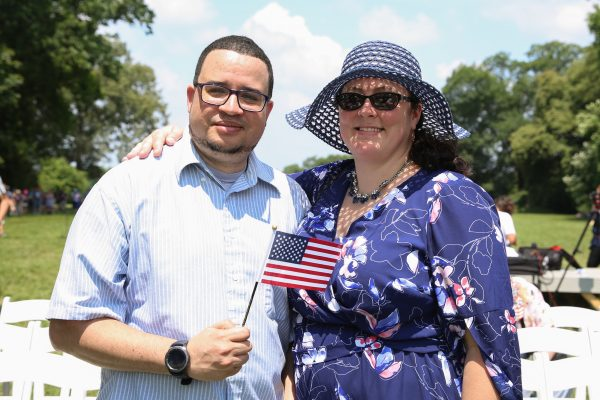 America's Newest Citizens Celebrate Fourth of July at George