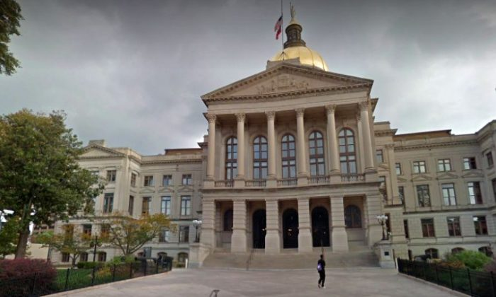 The Georgia State Capitol building in Atlanta. (Google Street View)