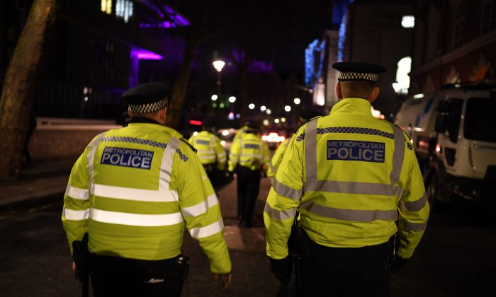 British police officers. (Leon Neal/Getty Images)
