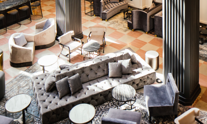 The Mayfair Hotel in Downtown Los Angeles. (Tanveer Badal)