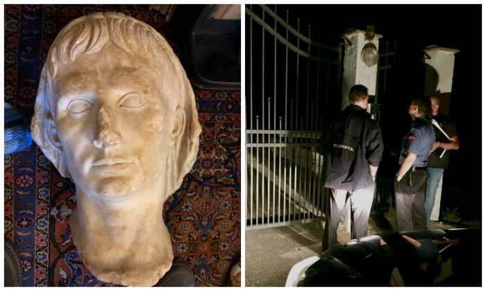 Police seized 23,000 cultural artifacts valued at a total of $47 million in their crackdown of an illegal trafficking operation, on July 4, 2018. (Europol)
