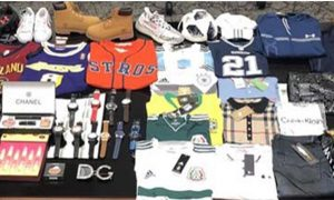 US Customs Agents Seize $42.9 Million Worth of Chinese Counterfeits in Texas