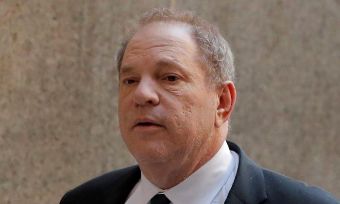 Film producer Harvey Weinstein arrives at Manhattan Criminal Court in New York City, on July 9, 2018. (Lucas Jackson/Reuters)