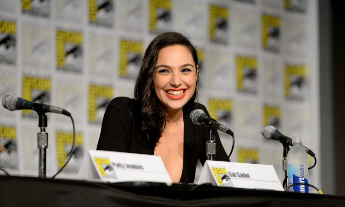 SAN DIEGO, CA - JULY 23: Actress Gal Gadot attends Celebrating 75 Years Of Wonder Woman during San Diego Comic-Con 2016 at San Diego Convention Center on July 23, 2016 in San Diego, California. (Photo by Charley Gallay/Getty Images for DC Entertainment)
