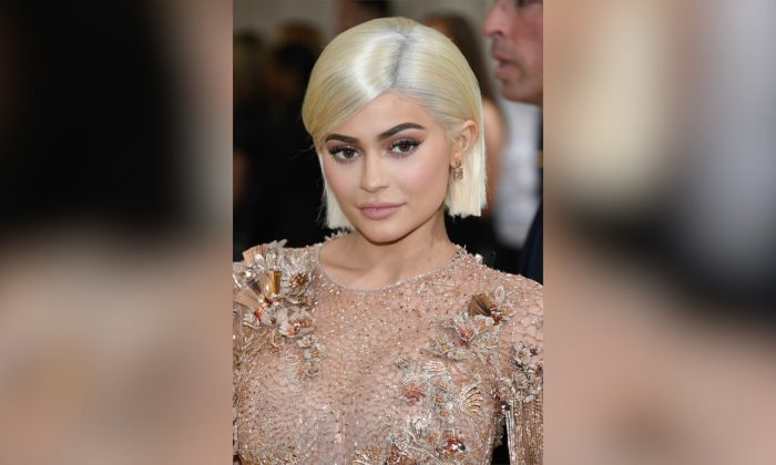 "Kylie Jenner attends the ""Rei Kawakubo/Comme des Garcons: Art Of The In-Between"" Costume Institute Gala at Metropolitan Museum of Art in New York City on May 1, 2017. (Photo by Dia Dipasupil/Getty Images For Entertainment Weekly)"