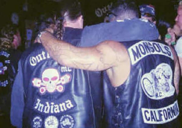 """The Mongols Motorcycle Club, according to the Department of Justice, are """"engaged in the transportation and distribution of cocaine, marijuana and methamphetamine. The Mongols are also known to frequently commit violent crime including assault, intimidation and murder in defense of their territory, and to uphold the reputation of the club."""" (Department of Justice)"""