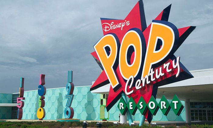 Disney's Pop Century Resort is a theme hotel, based on pop icons from the 1950s to the 1990s. (Matt Stroshane/Getty Images)