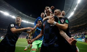 Croatia Beats England in Extra-Time, Reaching Finals for First Time