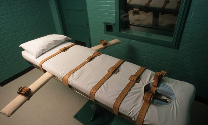 The Texas death chamber in Huntsville, Texas. (Joe Raedle/Newsmakers via Getty Images)