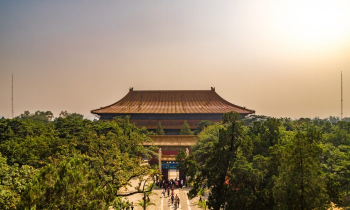 The Changling Tomb, one of 13 mausoleums that serve as the final resting place for Ming Dynasty emperors, in Beijing. (Takashi Images/Shutterstock.com)