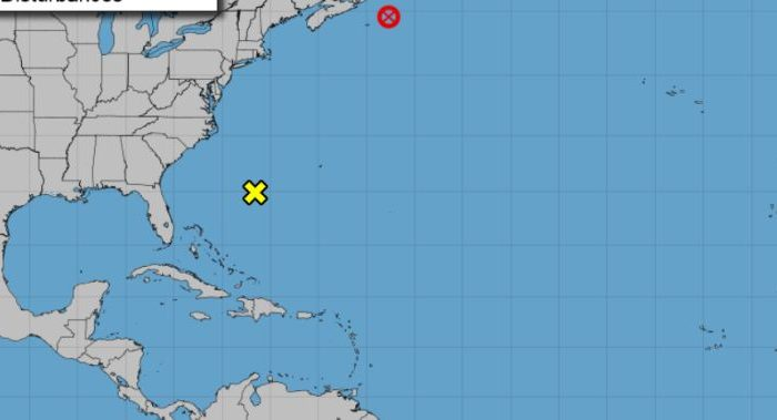 Chris is now a post-tropical cyclone. (NOAA.gov)