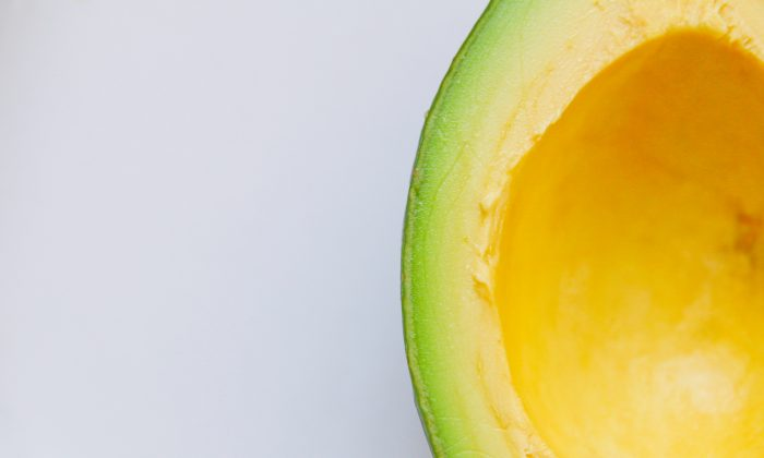 The corner of a hollowed-out avocado. (Glen Carrie/Unsplash)
