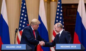 Trump Focuses on Peace Over Politics at Summit With Putin