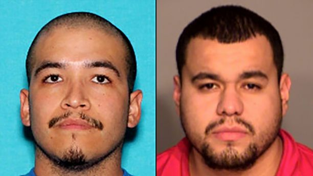 Rene Nunez, (L) and Fidel Miranda.  (Las Vegas Metro Police Department)