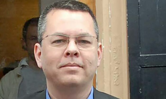 This undated photo made available by the Dogan News Agency on March 13, 2018 shows Andrew Brunson, an American pastor, in Izmir. (STR/AFP/Getty Images)