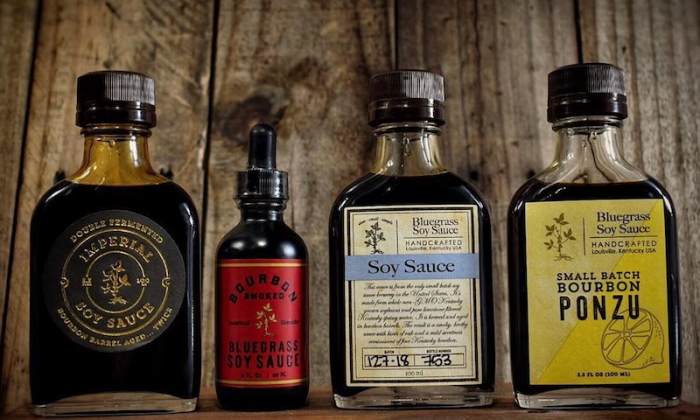 The line of soy sauces from Bourbon Barrel Foods.