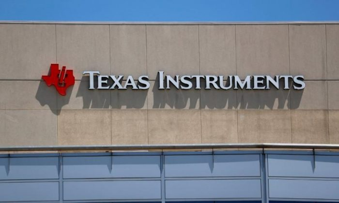 A Texas Instruments Office is shown in San Diego, California, U.S., April 24, 2018. (REUTERS/Mike Blake