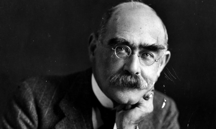 Rudyard Kipling (1865–1936), English writer and Nobel laureate. (Evening Standard/Getty Images)