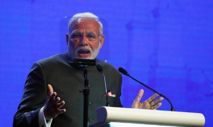 India's Prime Minister Narendra Modi in Singapore on June 1, 2018. (Edgar Su/Reuters)