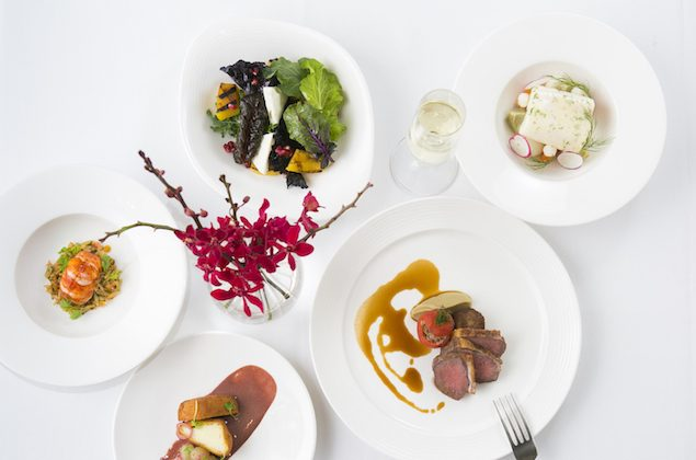 Food at Nerai restaurant in Midtown, Manhattan, on Nov. 28, 2014. (Samira Bouaou/Epoch Times)