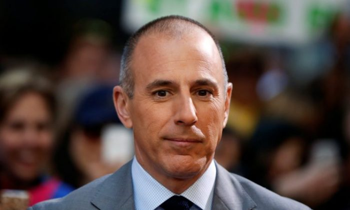 """Host Matt Lauer at NBC's """"Today"""" show at Rockefeller Center in New York, on May 3, 2013. (REUTERS/Lucas Jackson/File Photo)"""