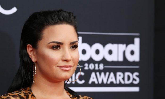 Demi Lovato at the 2018 Billboard Music Awards in Las Vegas, Nevada, May 20, 2018. (Reuters/Steve Marcus)
