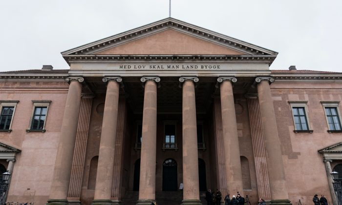 A general view of the Copenhagen City Court in Denmark on March 21, 2018. (Martin Sylvest/AFP/Getty Images)