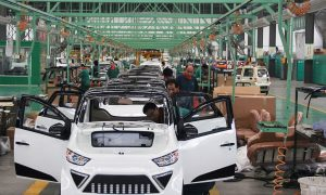 China Challenges Germany in Electric Car Industry