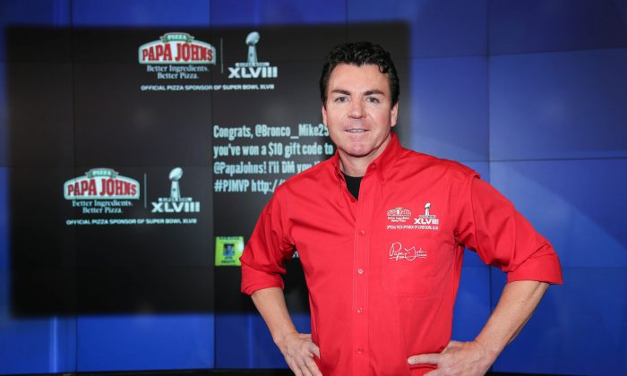 John H. Schnatter, founder and ousted former chairman of Papa John's International, Inc., in New York City, on Jan. 31, 2014. (Rob Kim/Getty Images)